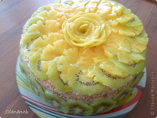 В основе всех тортов рецепт http://www.koolinar.ru/recipe/view/72079 . ОООООчень удачный! Всем рекомендую.  фото 8