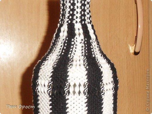 """бутылка с крышкой, проволока для ручек и нить-букле. """"Красные мухи"""" фото 10"""