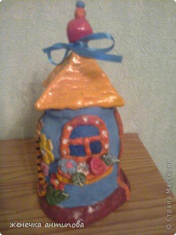 Это домик, где живёт кошечка-принцесса. фото 2