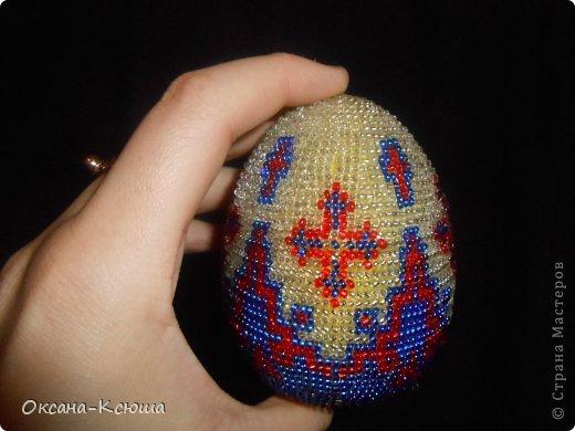 Очень нравятся мне пасхальные яйца Вот набисерила)))  фото 2