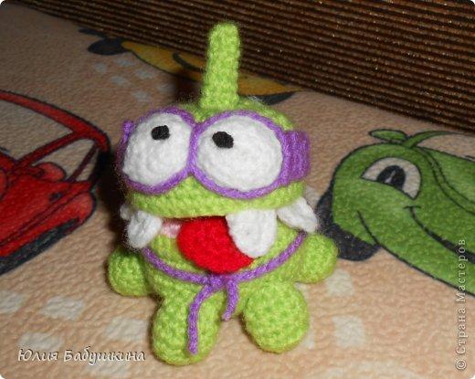Лягушонок из компьютерной игры Cut The Rope фото 1