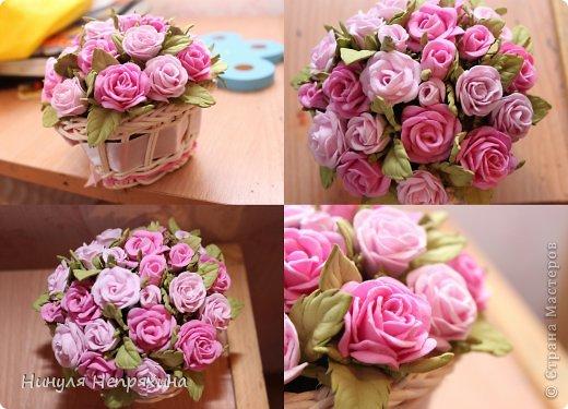 Как сделать цветы из фоамирана своими руками фото
