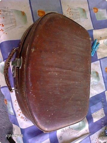 Здравствуйте, этот чемоданчик был приведён в надлежащий вид пару недель назад, но показать не успела, загремела в больницу.... Сегодня время пришло. фото 4