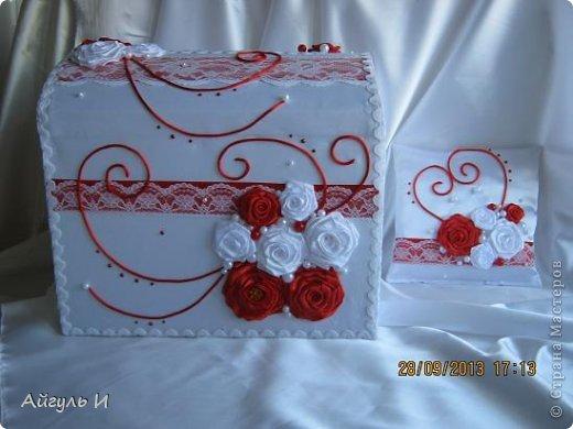 Красное и белое фото 1