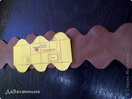Мастер-класс Поделка изделие Ассамбляж Картина - Ключница из кожи Погода в доме  Кожа фото 18