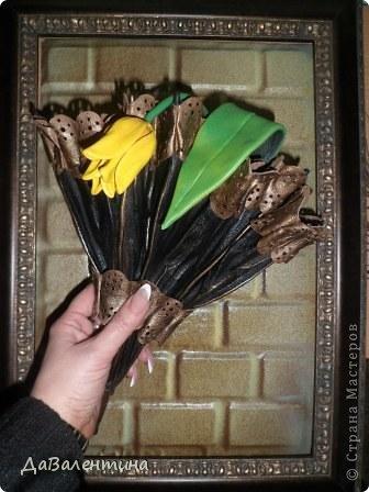 Мастер-класс Поделка изделие Ассамбляж Картина - Ключница из кожи Погода в доме  Кожа фото 49
