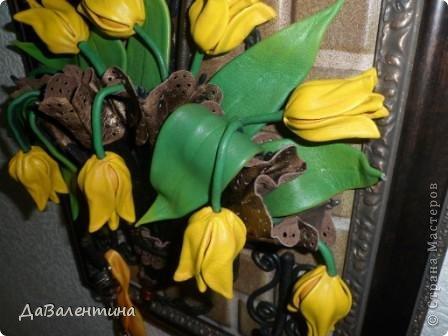 Мастер-класс Поделка изделие Ассамбляж Картина - Ключница из кожи Погода в доме  Кожа фото 2