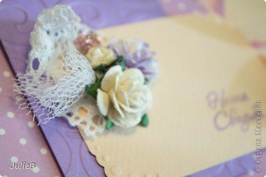 Свадебные конвертики для дисков фото 5
