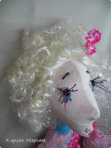 Решила попробовать каркасную технику выполнения куклы . Результат понравился . Куклам можно придать очень интересные позы .Это то что получилось . Фея Цветов. фото 6