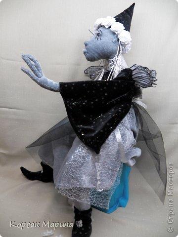 Решила попробовать каркасную технику выполнения куклы . Результат понравился . Куклам можно придать очень интересные позы .Это то что получилось . Фея Цветов. фото 3