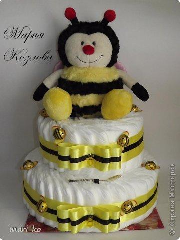 Торт из памперсов. фото 2