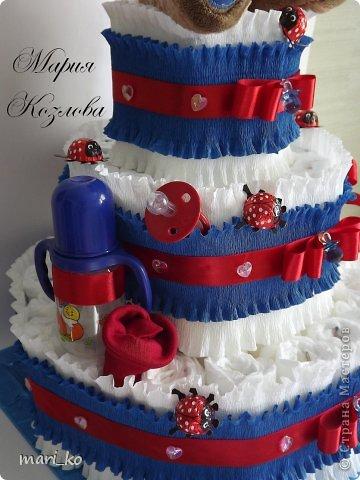 Торт из памперсов. фото 5