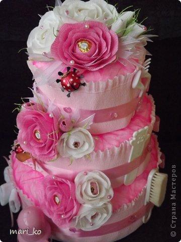 Торт из памперсов. фото 6