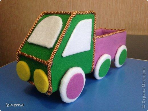Машинка для хранения фломастеров.  фото 1