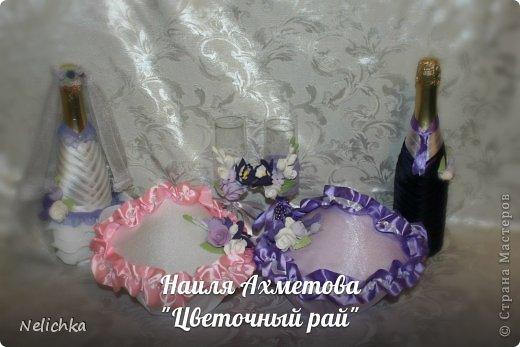 Свадьба, которая состоялась 13 сентября 2013 года. Каскадный букет невесты бело-фиолетовых оттенков из орхидей роз и фрезий. фото 13