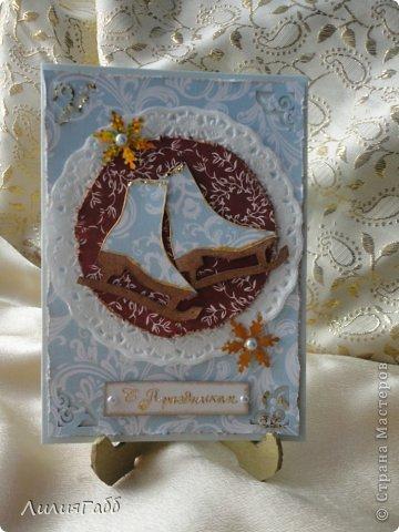 Идеи открыток подсмотрела у вас дорогие мастерицы!!! Спасибо Вам!!!!!!!! фото 2