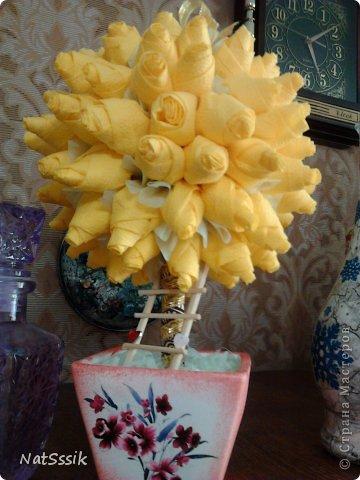 Вот такой осенний шарик))) Я не знаю кто автор этих роз, если вы узнаете свой мк напишите пожалуйста, я укажу ссылку. фото 2