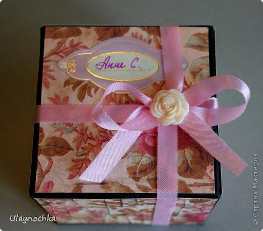 Поздравительная коробочка фото 1