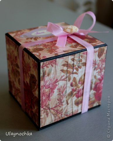 Поздравительная коробочка фото 2