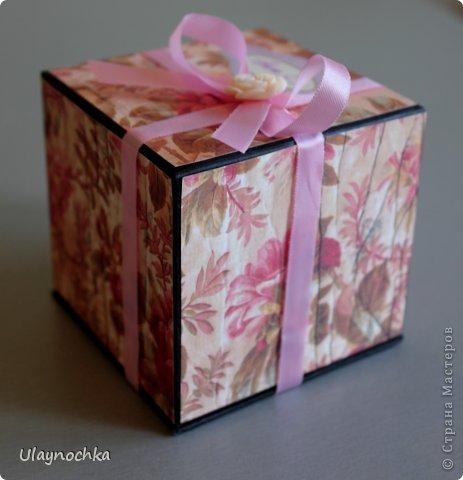 Поздравительная коробочка фото 3