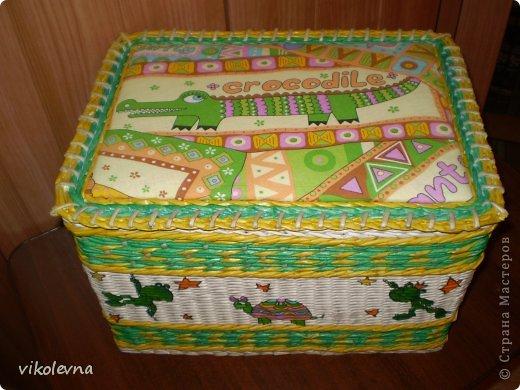 привет все!!!!!!сплелся вот такой коробок,для крестника-племянника.использовала идею Ольги Михайловны (  https://stranamasterov.ru/node/641533?c=favorite  ) спасибочки!!!!!! фото 8