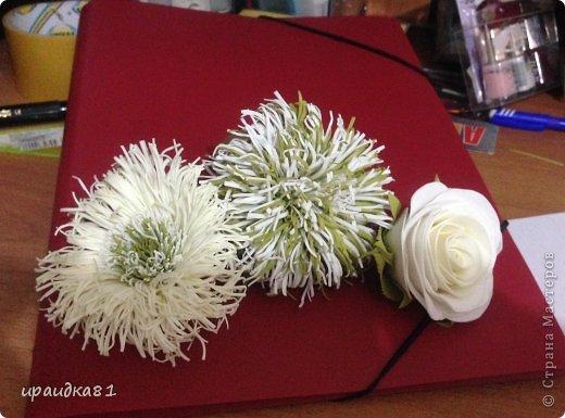 Мои цветочки для брошек и заколок фото 1
