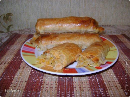 Кулинария Мастер-класс Рецепт кулинарный Капустные трубочки МК  фото 1