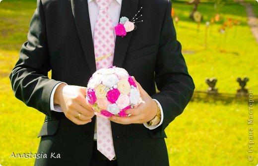 Мои свадебные хлопоты. О розовом цвете даже и речи не шло. Да вообще не было никакого решения по поводу цвета, как то само собой получилось, что везде присутствовал розовый :) фото 10