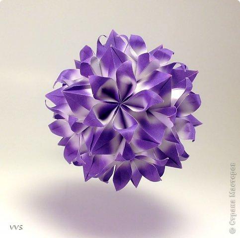 Versailles Designer: Krystyna Burczyk Parts: 60 Paper's size : 7,5 cm Final height: ~ 11 cm фото 2