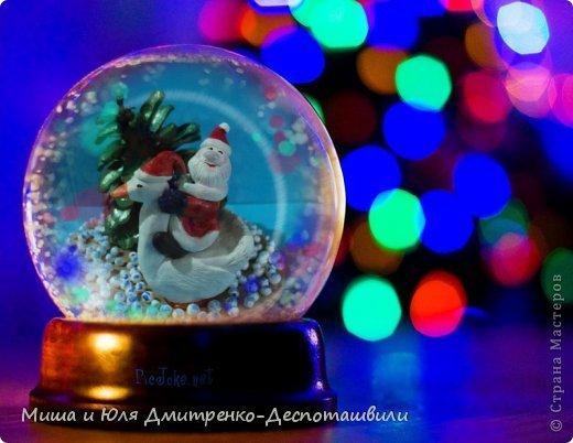 Дед Мороз уже так и шастает по Стране Мастеров, хоть за окном еще осень. Вот и ко мне заглянул. да как! На гусе! Наверное всем хотел донести, что настоящий Рождественский Гусь, это не тот, который на столе, а тот который в небе, помогает ему разносить подарочки фото 1
