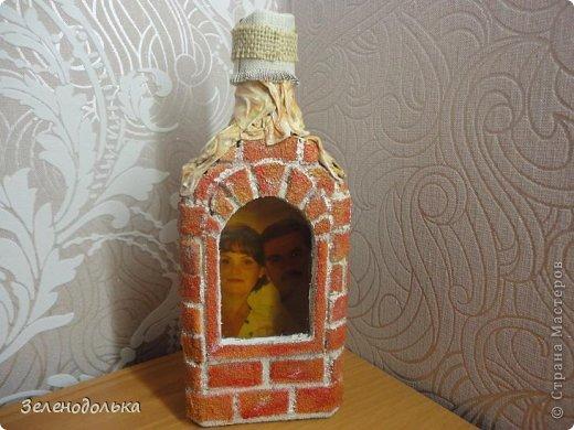 Бутылочка-крепость)))  фото 3