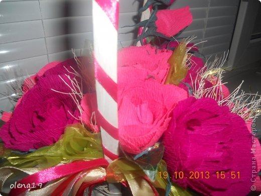 Ещё одна работа - корзинка в подарок на день рождения. фото 3