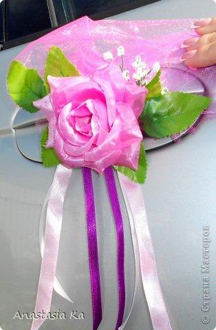 Мои свадебные хлопоты. О розовом цвете даже и речи не шло. Да вообще не было никакого решения по поводу цвета, как то само собой получилось, что везде присутствовал розовый :) фото 4