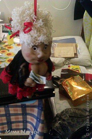 Заказчица захотела подарить мужу такую куклу на годовщину свадьбы! фото 2