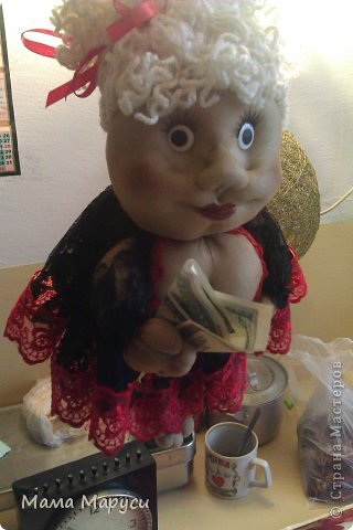 Заказчица захотела подарить мужу такую куклу на годовщину свадьбы! фото 1