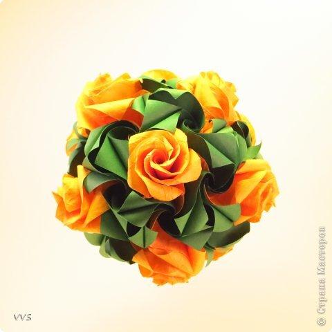 Versailles Designer: Krystyna Burczyk Parts: 60 Paper's size : 7,5 cm Final height: ~ 11 cm фото 1