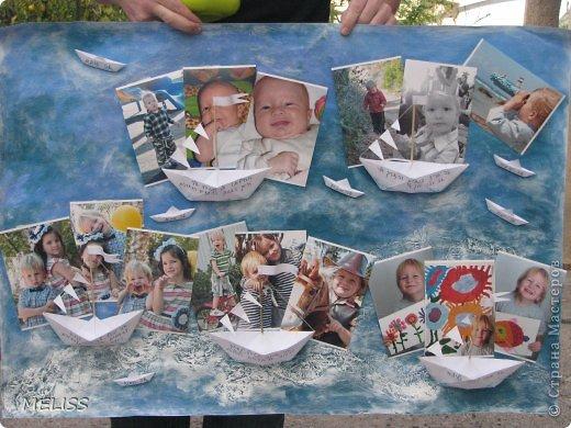 на каждом кораблике описание ,что я люблю,каким бываю а на маленьких корабликах написано(я умный,красивый,храбрый,хитренький...) фото 1