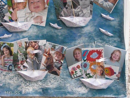 на каждом кораблике описание ,что я люблю,каким бываю а на маленьких корабликах написано(я умный,красивый,храбрый,хитренький...) фото 3