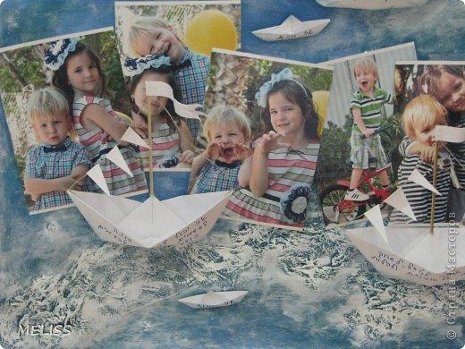 на каждом кораблике описание ,что я люблю,каким бываю а на маленьких корабликах написано(я умный,красивый,храбрый,хитренький...) фото 2