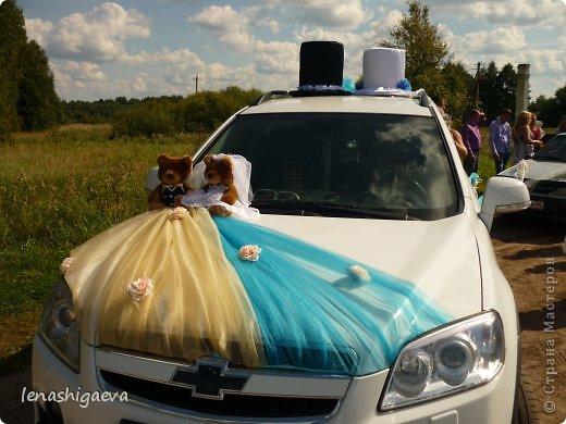 Как сделать свадебные на машину