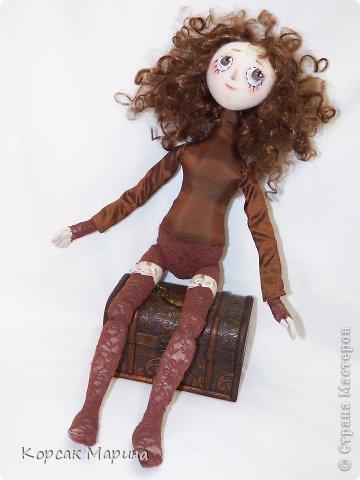 Куколка Тая выполнена из бязи . Ножки -ручки двигаются. фото 3