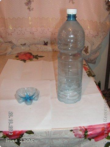 Мастер-класс Забор из пластиковых бутылок  Материал бросовый фото 2