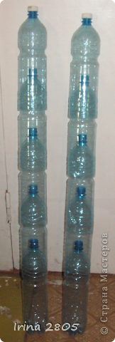Поделки из пластиковых бутылок для дачи и сада (100 фото) 34