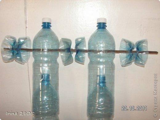 Изделия из пластиковых бутылок своими руками для сада