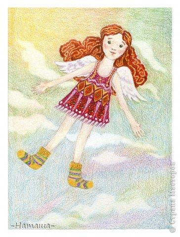 Ангелочек в носках