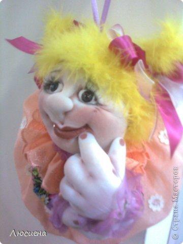 кукла ручной работы попик РОЗА фото 1