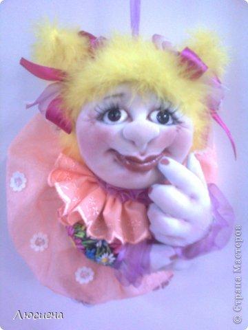кукла ручной работы попик РОЗА фото 2