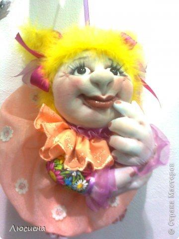 кукла ручной работы попик РОЗА фото 3