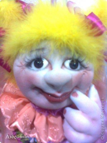 кукла ручной работы попик РОЗА фото 4