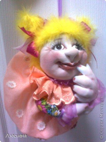 кукла ручной работы попик РОЗА фото 5